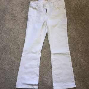 Michael Kors cropped flared jeans. 4